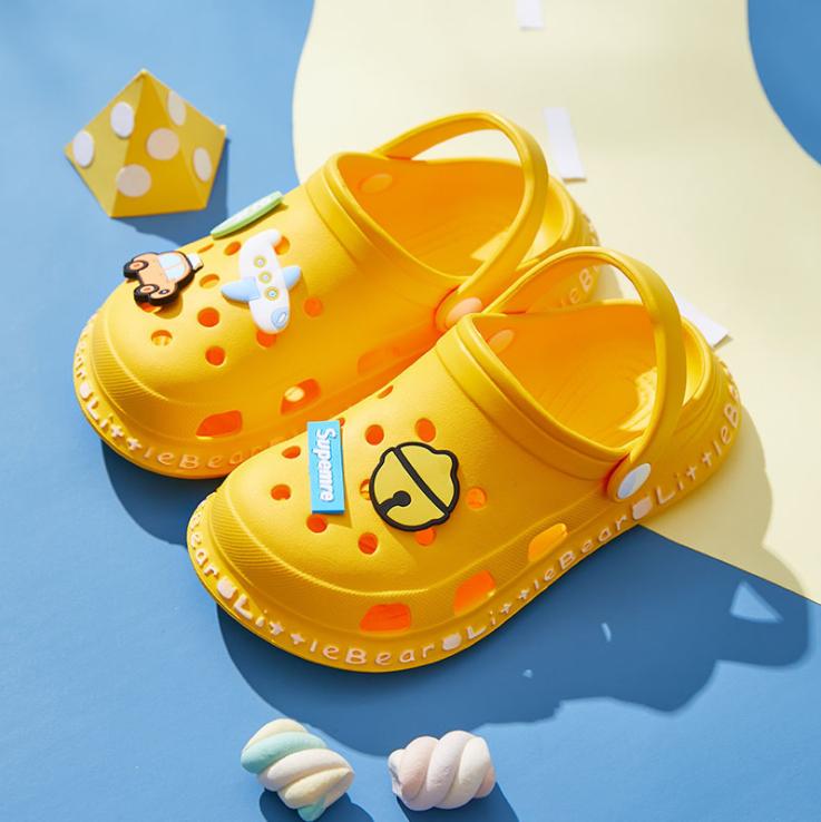 Новое поступление, низкая цена, классический дизайн, мягкие удобные милые детские летние туфли, детские пляжные сандалии EVA, детские Сабо