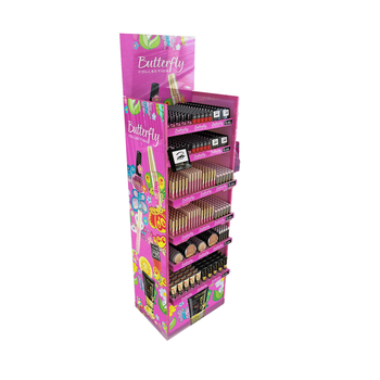 Eyelash Lipstick Cosmetic Make Up Perfume Cardboard Display Stands