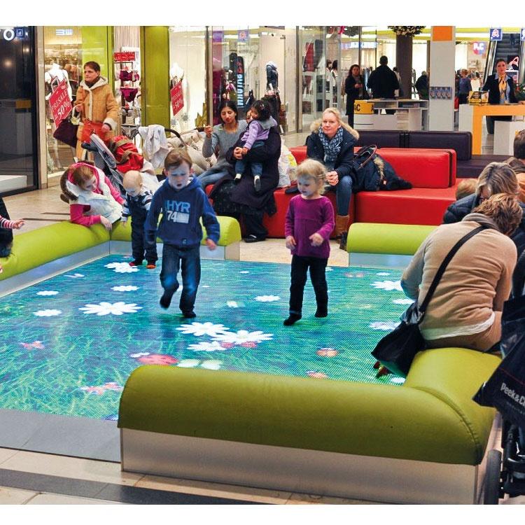 Новая технология, удивительная комнатная детская реклама, 3D Голограмма, Интерактивная напольная проекция