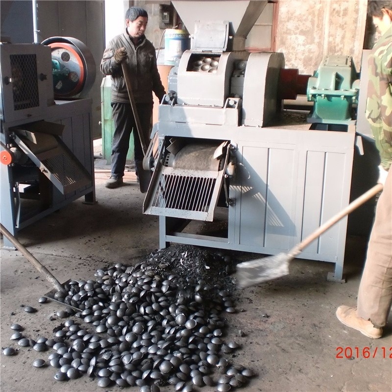 China best supplier coal bamboo hust ball briquette pressing machine with big capacity