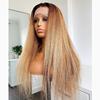 kinky lace human wig