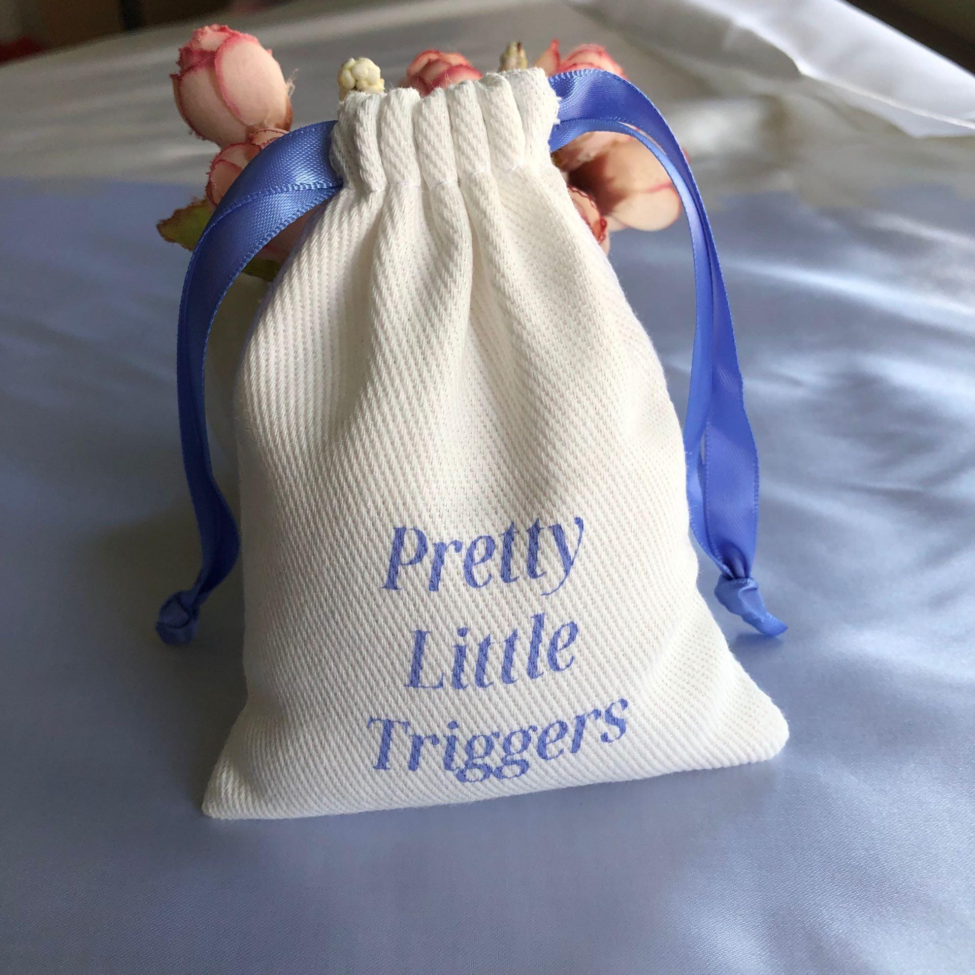 Оптовая продажа, саржевая ткань из органического хлопка, сумка на шнурке из хлопка, саржевая подарочная упаковка