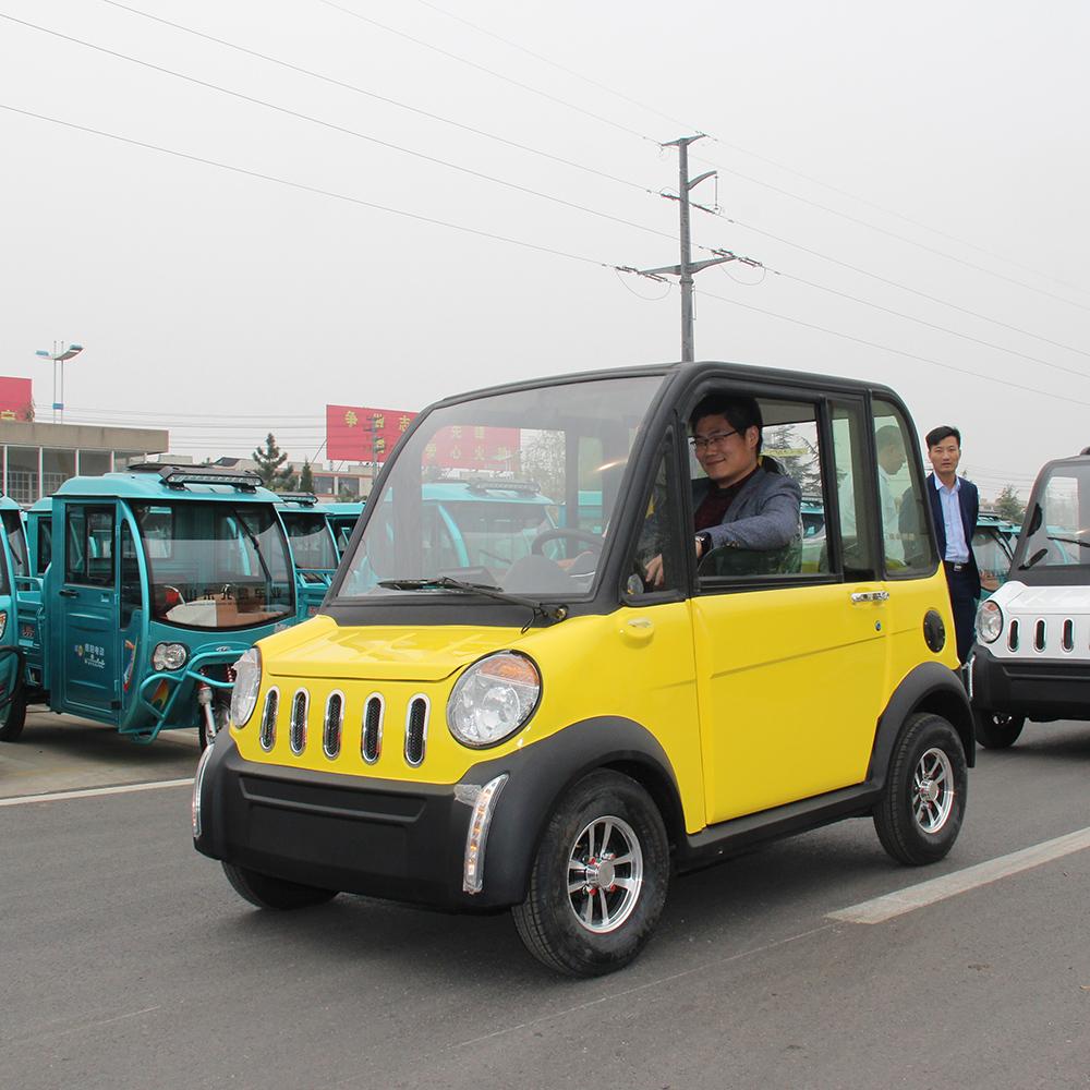 NEW power Professional Cheap 4 wheels vehicle 4 seat mini electric car