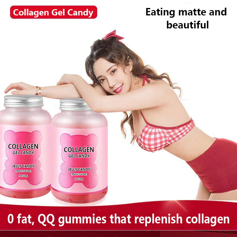 Explosive product melanin whitening freckle acne marks high value oxidized free radical collagen gummies