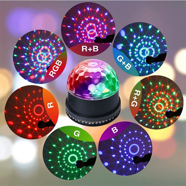 Диско-Шар, освещение для дискотеки, DJ-освещение, стробоскоп, сценический стробоскоп, эффекты, звуковая активация, праздничные огни
