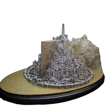 Fine art collectiable LOTR Minas Tirith City Model Capital White City 3D building model
