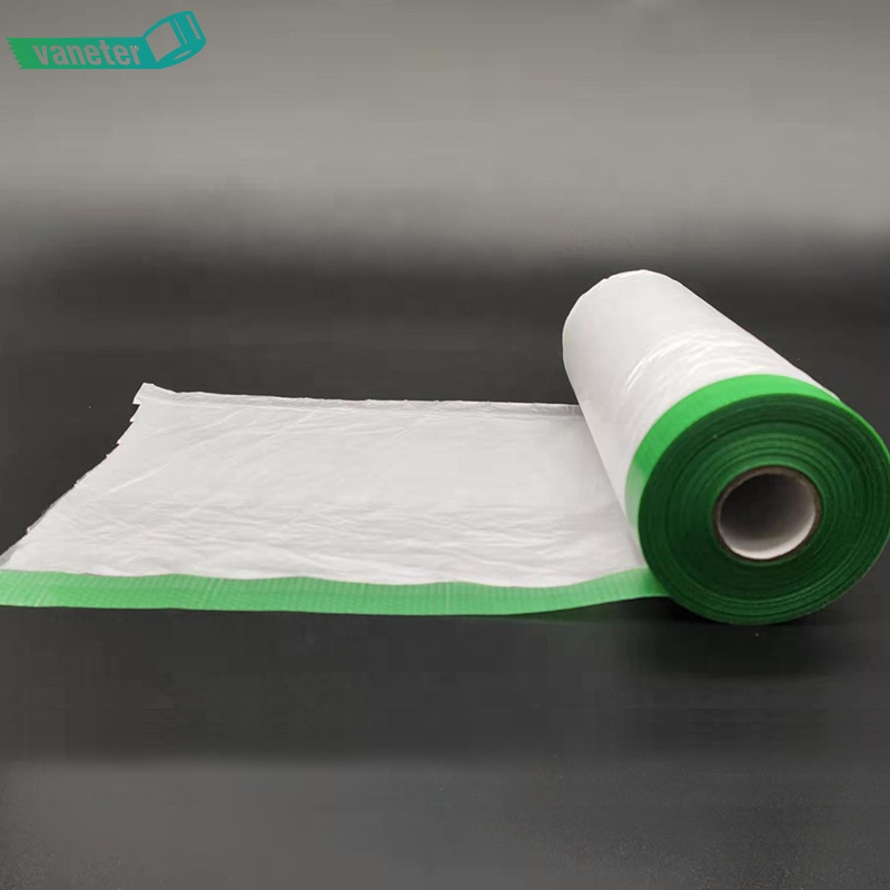 Washi Masking Protection Film, Heat Resistant Crepe Paper Spray Painting Covering Tape