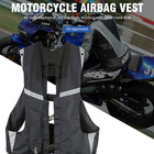 Newest Vest Vest 2021 Newest Design Cyclic Utilization Fast Inflating Device Airbag Vest Motorcycle Protective Gear Airbag