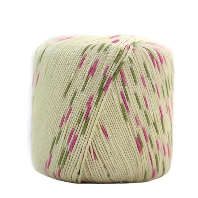 chinese cotton bamboo plain yarn manufacturer smb hot selling bambu algodon yarn for hand knitting baby sets yarn