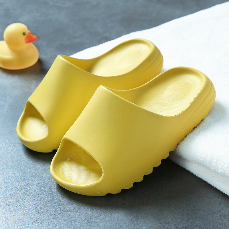 Новые детские садовые туфли Yezzy из ЭВА, модные стильные летние пляжные тапочки, Уличная обувь