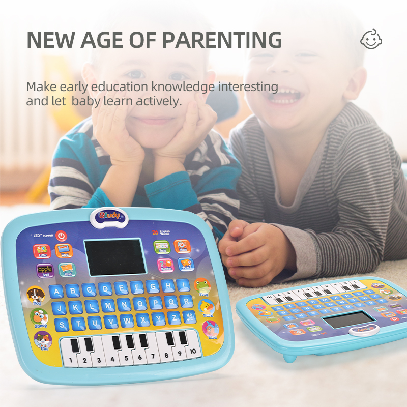 LED Screen Tablet pad computer kids toys learning machines tablet Educational toy