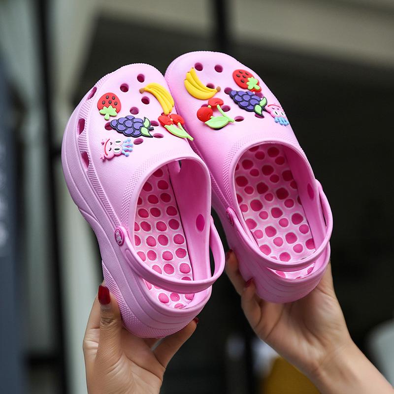 Красивая Женская пляжная обувь на высоком каблуке