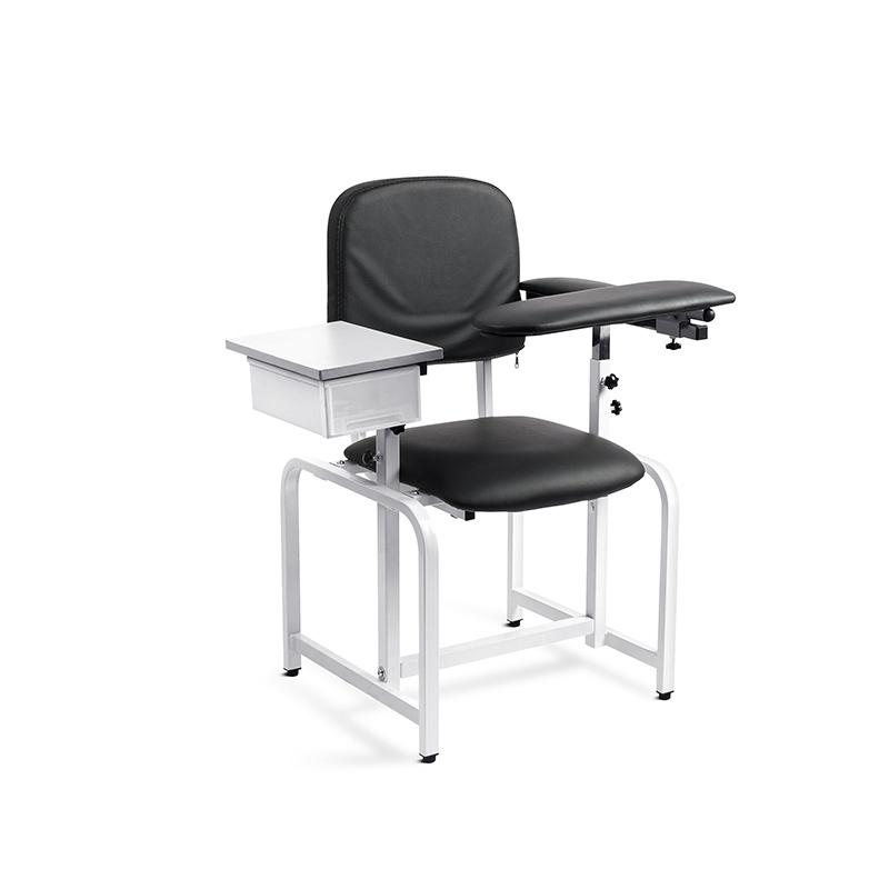 Фосфиальное экономное кресло для прорисовки крови, медицинские ручные прочные стулья для вакцины по флеботомии с выдвижным ящиком