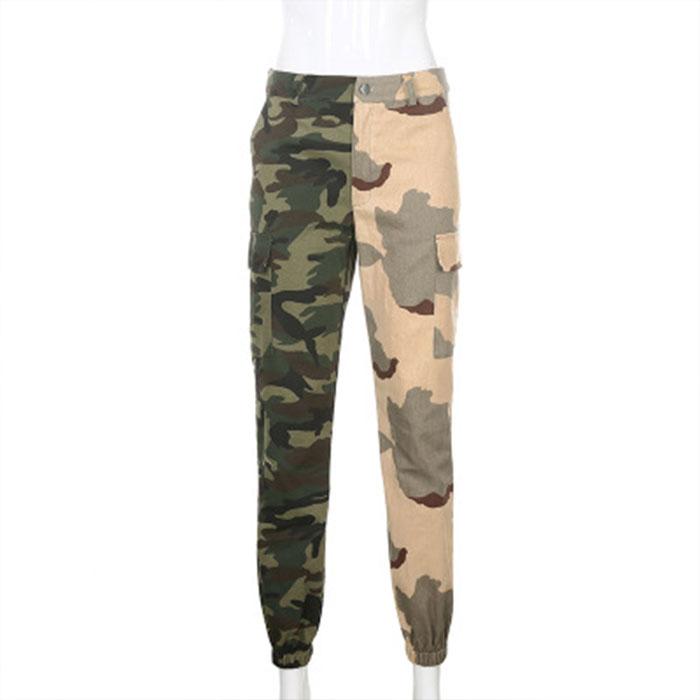 Mono De Camuflaje Para Mujer Pantalones Cargo De Cintura Alta 2020 Buy Pantalones De Mujer Leggings Para Mujer Legging De Mujer Product On Alibaba Com