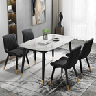 Chair New Design Dining Room Furniture Modern Restaurant Comfortable PU Fabric Leather Dining Room Chair