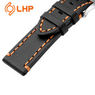 Leather Watch Leather 22mm Strap 20mm 22mm Black Soft And Stylish Italian Hand-sewn Luxury Leather Strap Made Of Leather Suitable For Unisex Watch Wristbands