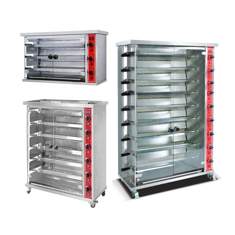 Bbq Rotisserie Grill Chicken Oven Roasting Rotisserie Gas