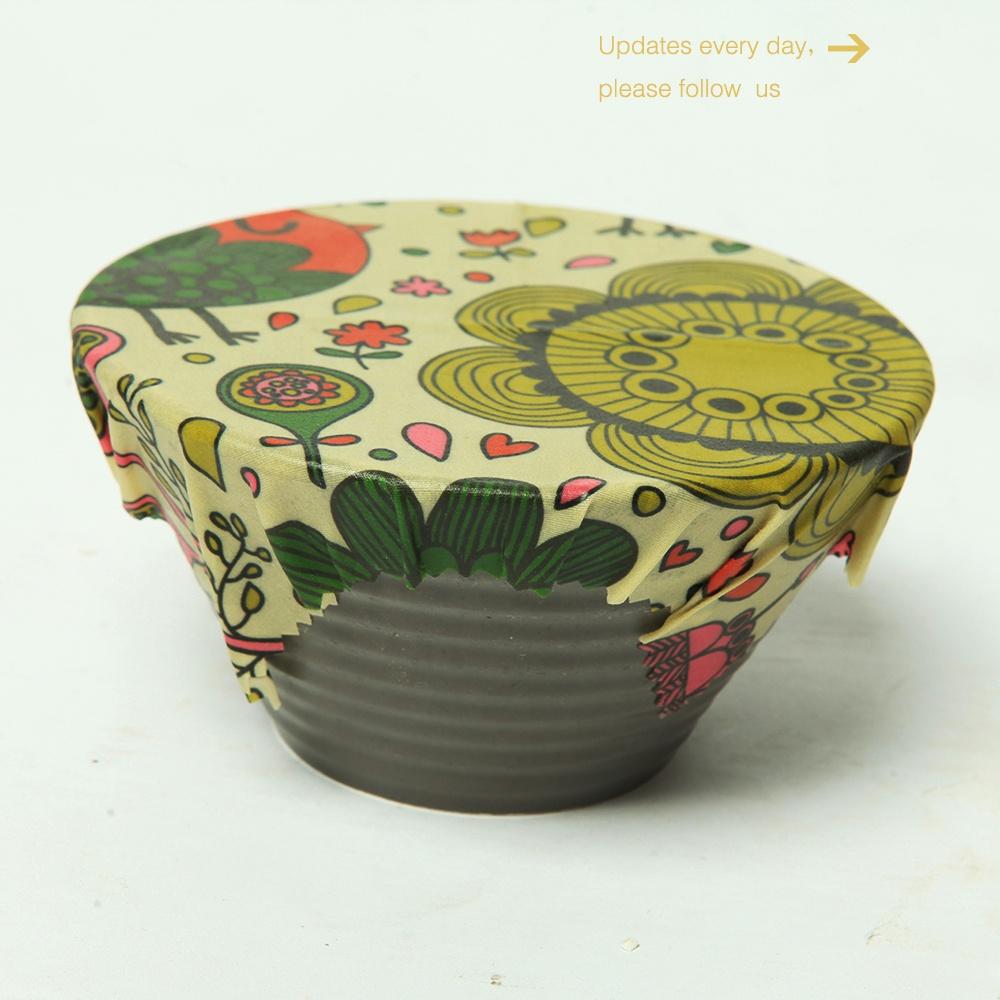 Многоразовая обертка из пчелиного воска для хранения продуктов, листовая обертка из пчелиного воска