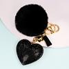 10-Black peach heart