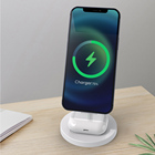 Desktop Multifunctional Charger Stand 2 In 1 Magnet Wireless Charger For Apple For Airpods Fast Wireless Charger