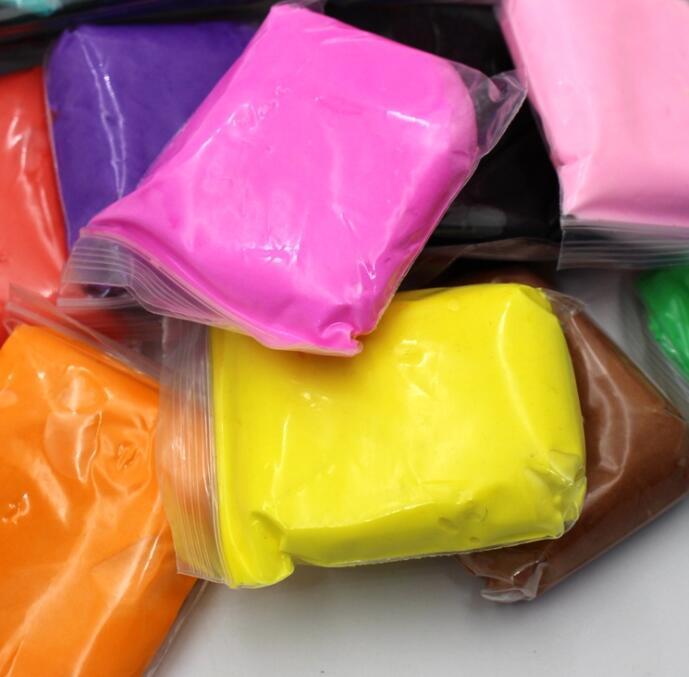 Горячая Распродажа, 24 цвета, воздушная сухая глина высокого качества, супер легкая глина, DIY playтесто