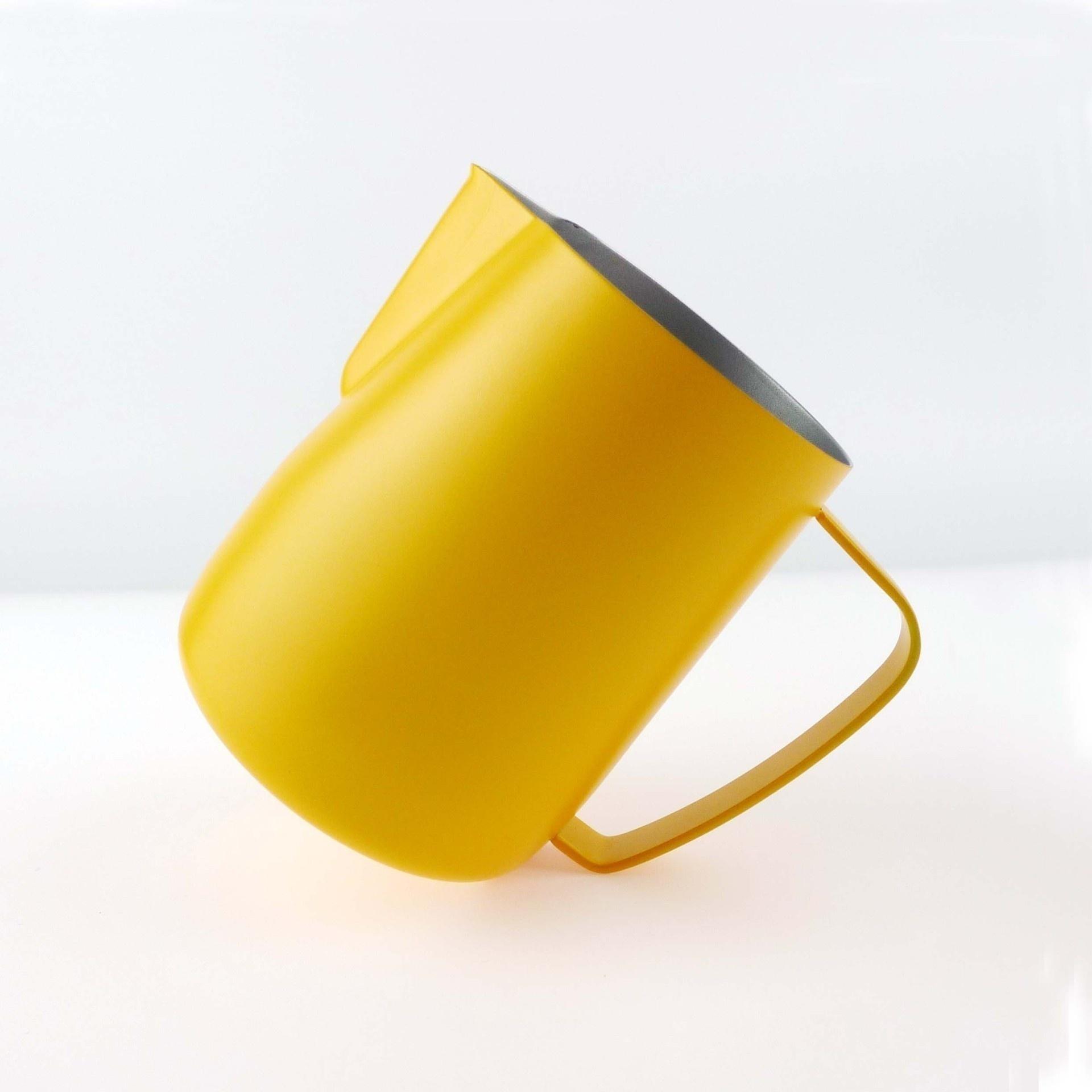 Молочный кувшин из нержавеющей стали кружка для взбивания молока пеновзбиватель для молока кружки итальянский латте арт Кофеварка кувшин ...(Китай)