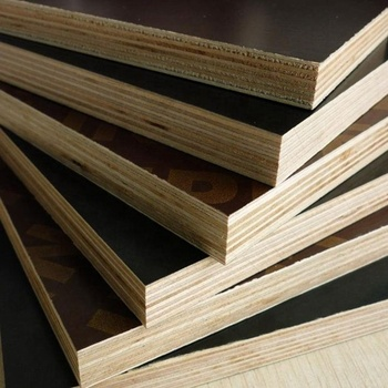 Edlon Wood Products best price 18mm black/brown film faced plywood finger joint core exported to UAE