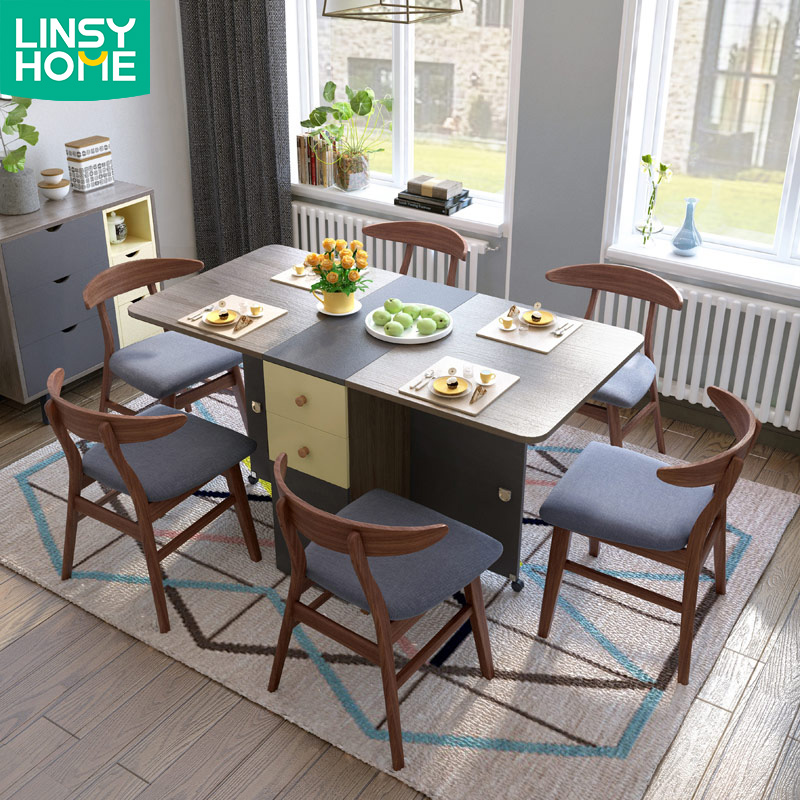 Hot Sale Modern 1 Set Wooden Folding Dining Table With Chairs Buy Dining Table With Chair Folding Dining Table With Chairs Wooden Dining Table With Chair Product On Alibaba Com