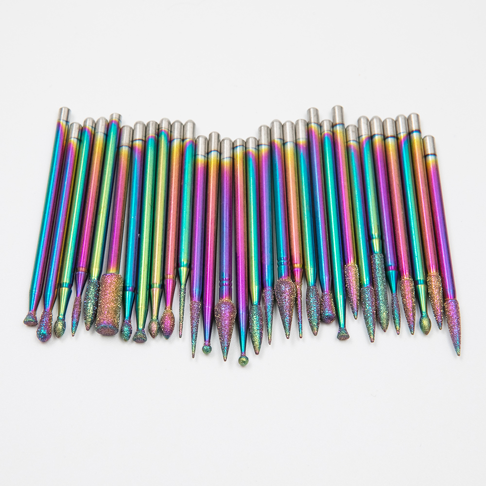 electric diamond nail drill bits
