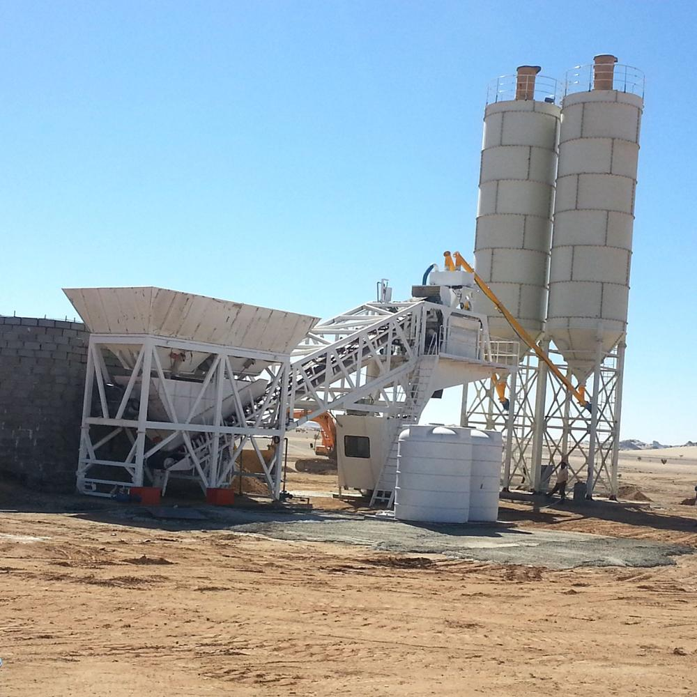 HONGDA Mobile MINI concrete Mixing Plants and other models