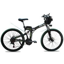 YTL 350W складной электрический велосипед 48V 10AH 21 скорость в наличии Продажа встроенного колеса Скрытая батарея 26 дюймов для взрослых(Китай)