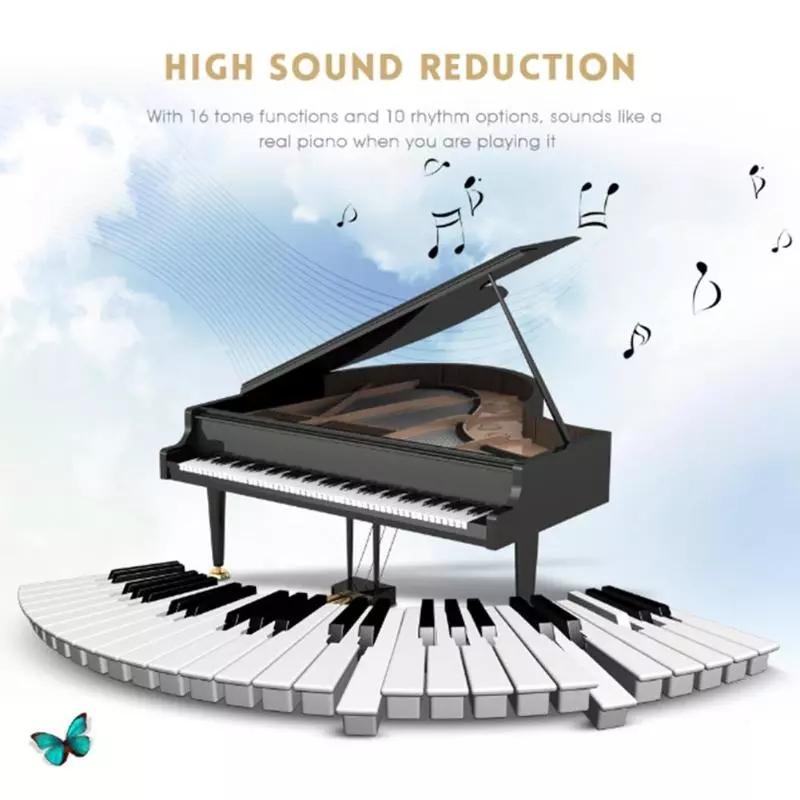 Китай victory гибкое рулонное Фортепиано Музыка Обучение Упражнение Цифровое фортепиано