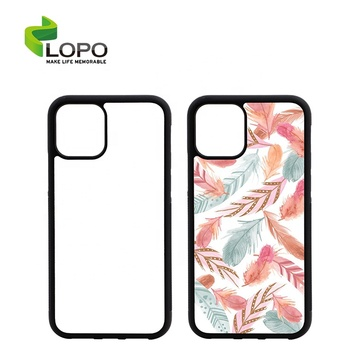 Hot Selling Custom Cute TPU 2D Rubber Sublimation Phone Cases for Iphone 11