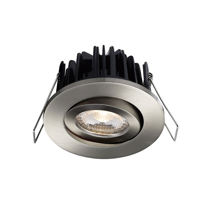 LED recessed dimmable led ceiling down light fire rated COB led down light