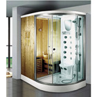 Factory Supplier bathroom 8mm 6mm tempered Glass enclosure bath steam shower cabin price