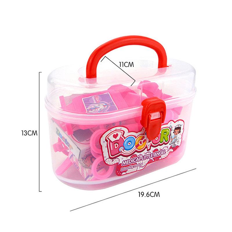 Оптовая продажа, модный пластиковый чемодан, врач, Офисная пластиковая игрушка, игровой набор для детей, медицинские наборы