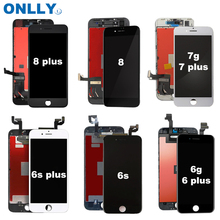 Lcds do telefone móvel para o iphone 5S 6 6plus 6s 6splus 7 7plus 8 8plus X display lcd touch screen