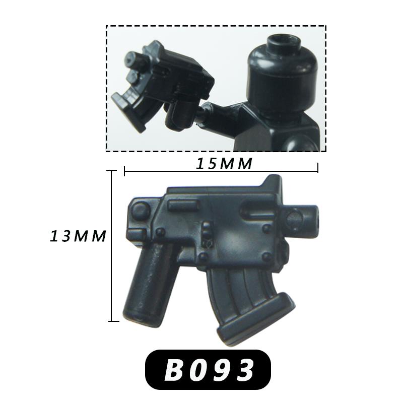 10 шт. legoing военный спецназ полицейский пистолет оружие армейское солдат Шлем Щит строительные блоки MOC оружие для детей(Китай)