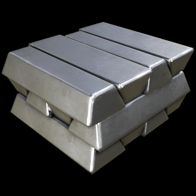 Высококачественный литой слиток из алюминия