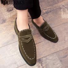 Лоферы; Замшевые туфли; Мужские оксфорды; Большие размеры; Мужская корпоративная обувь для мужчин; Черные мужские туфли; Свадебная обувь; 2020 ...(Китай)