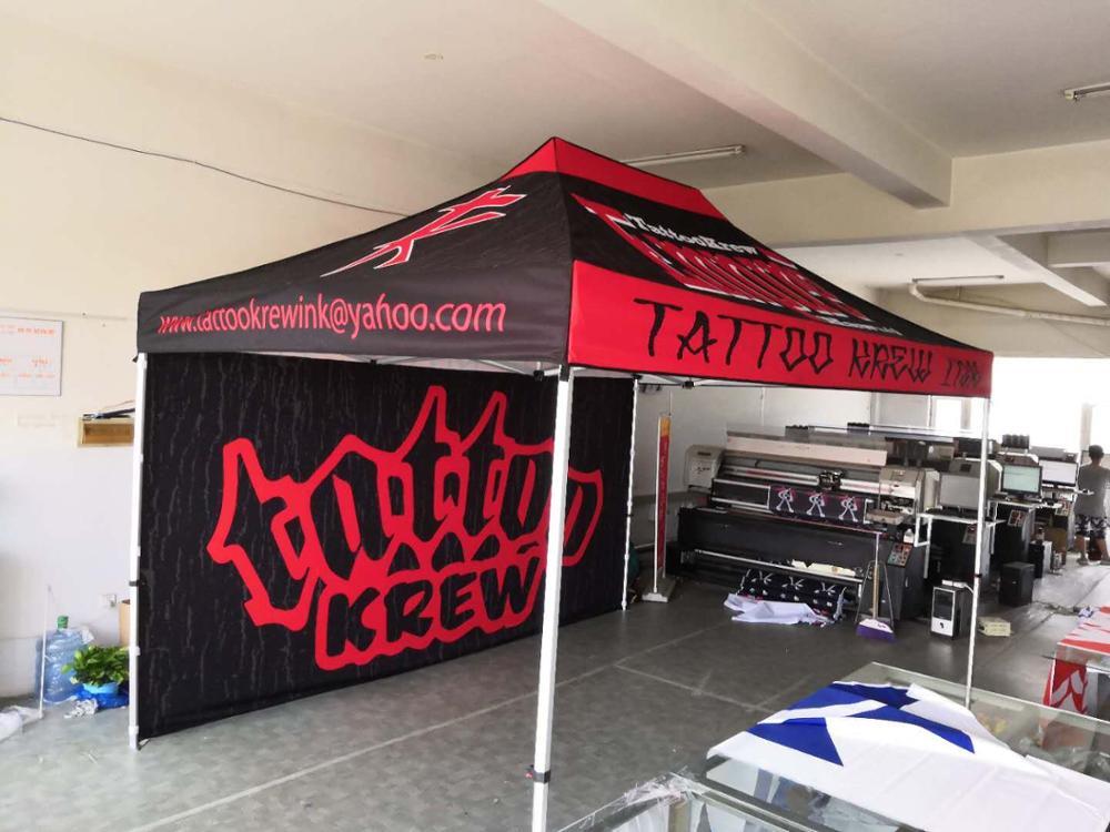 Сверхмощная индивидуализированная палатка 10 футов х 20 футов, рекламная беседка с логотипом, алюминиевая палатка