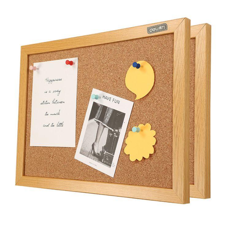 Hot sale cork pin board with wooden frame notice memo - Yola WhiteBoard   szyola.net