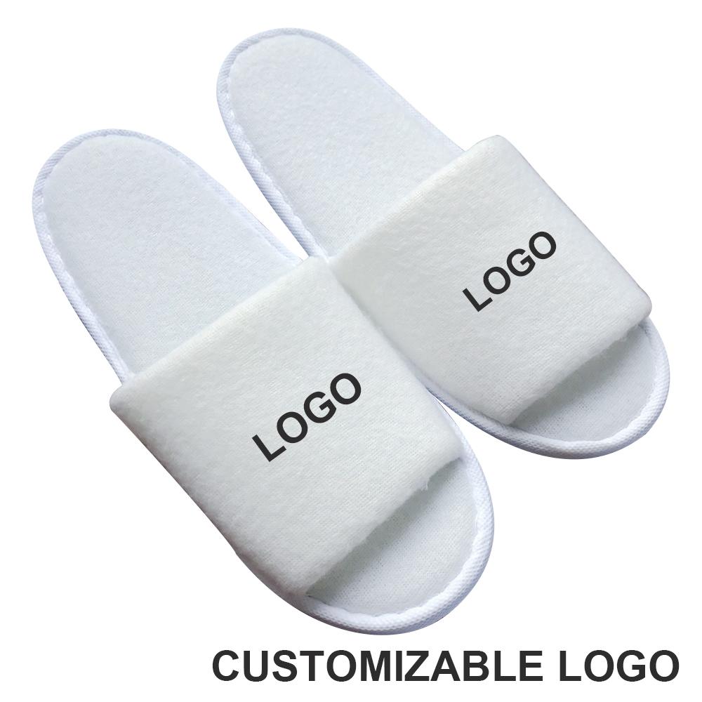 Моющиеся индивидуальные Тапочки для дома, ванной, гостиницы, вафельные плетеные одноразовые Тапочки для отеля с пятью звездами и пользовательским логотипом