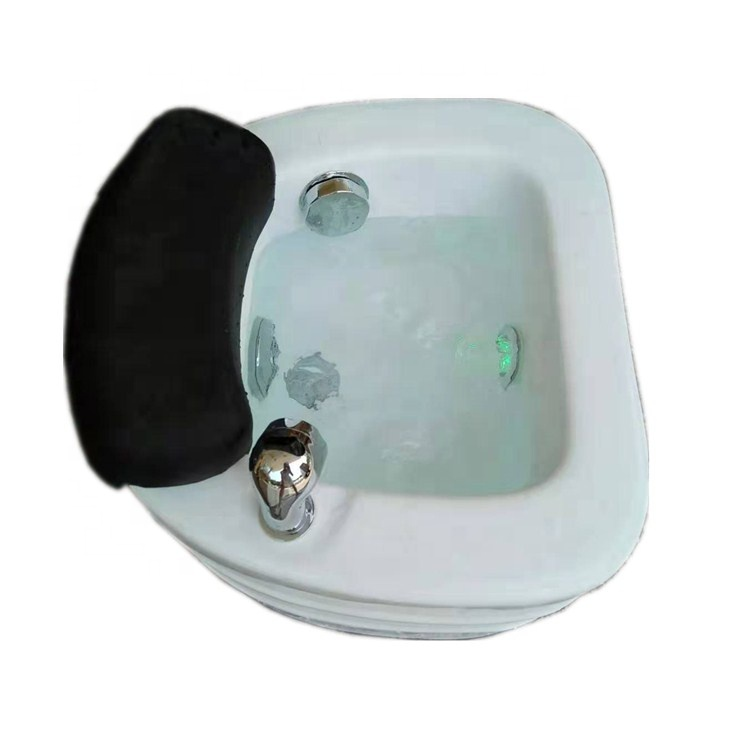 morden acrylic foot spa sink pipeless spa pedicure bowl/pedicure jet tub with jets
