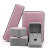Jewelry set big Pink & grey