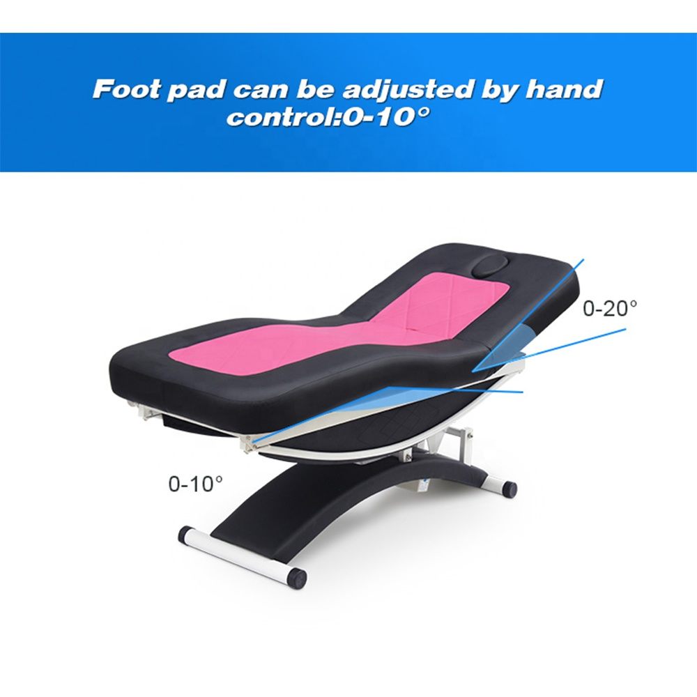 Kangmei Luxury 3 Electric Motors Treatment Massage Table Beauty Salon Spa Eyelash Cosmetic Facial Bed