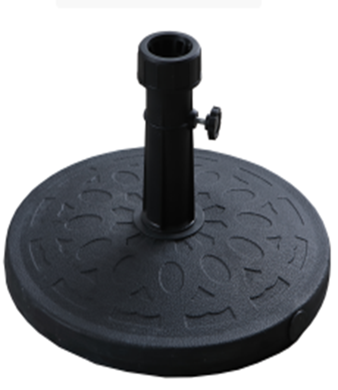 Factory direct supply umbrella base cement with beautiful pattern