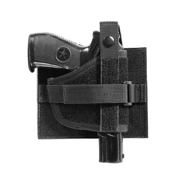 YAKED lightweight removable black police supplies tactical gear military airsoft gun pistol holster
