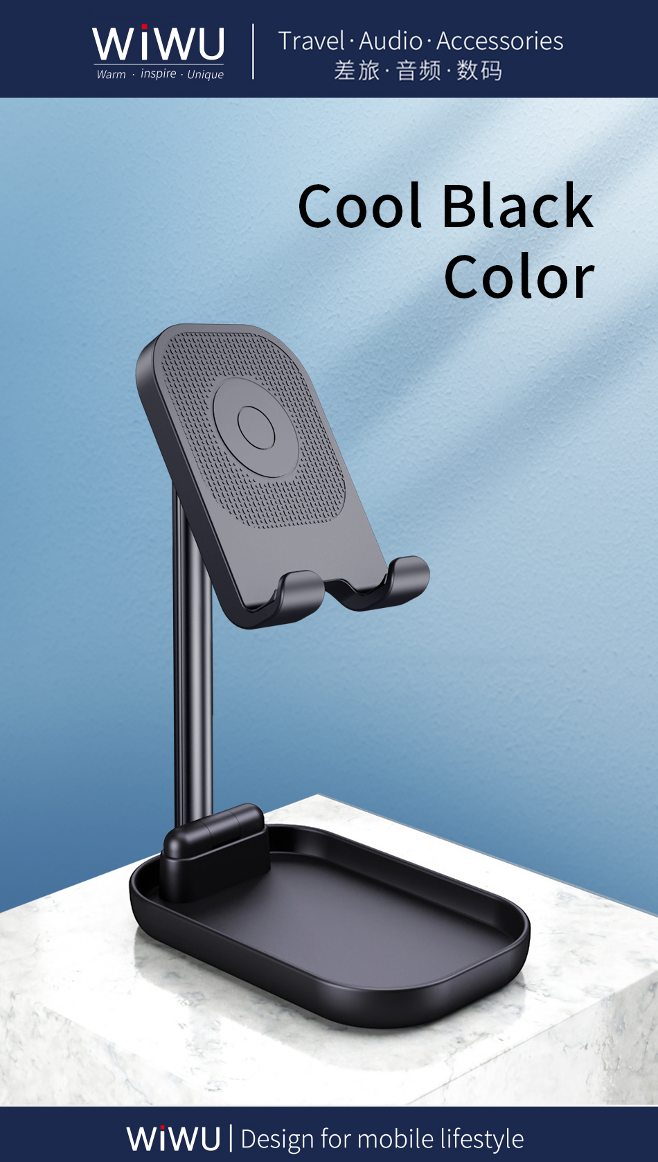 WiWU ZM100手机支架 (https://www.wiwu.net.cn/) 手机支架 第5张