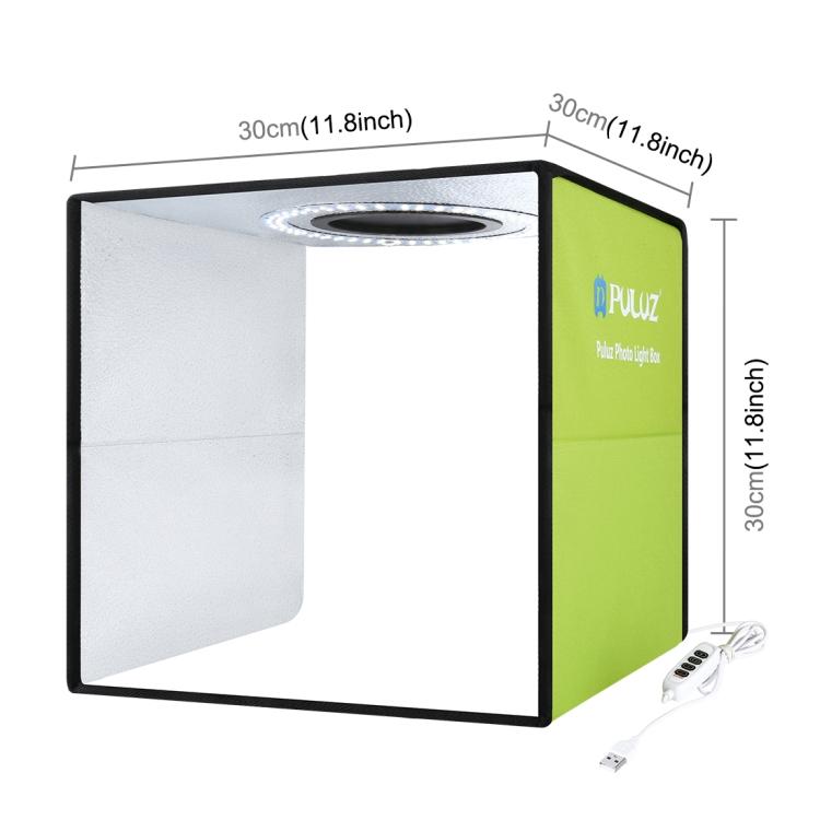 Портативный фотобокс PULUZ 30 см для съемок в фотостудии освещения студийная съемка палатка комплект окно с 6 видов цветов фон для фотосъемки